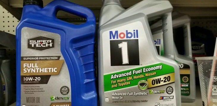 Best 0W-20 Synthetic Oil